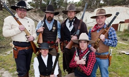 `Cowboys' shoot for state titles in Australia