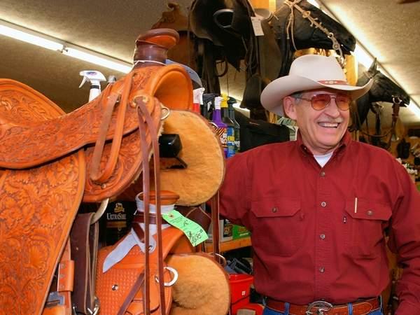 "John Franklin ""Quick-Draw"" McGraw lives the cowboy life"