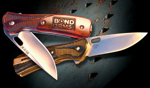 Bond Arms Teams Up With Legendary Buck Knives To Create A New High Quality Self Defense Knife