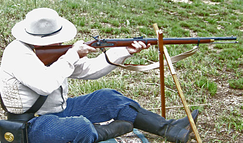 Buffalo/Long Range Rifle Match in Flint Hills,Kansas.