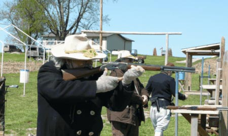 NCOWS Match at Goddard Territorial Justice Committee LLC Range this week