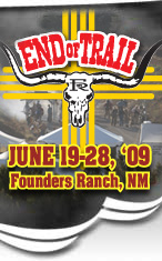 Dates for END of TRAIL 2009
