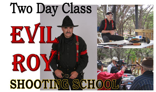 Evil Roy Shooting School May 28-29, 2011