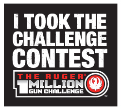 "Participate in the Ruger® ""I Took the Challenge Contest"