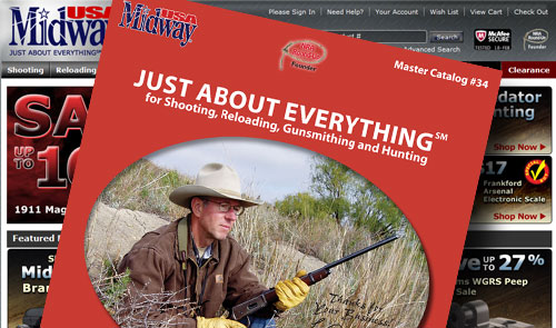 MidwayUSA Releases Master Catalog #34