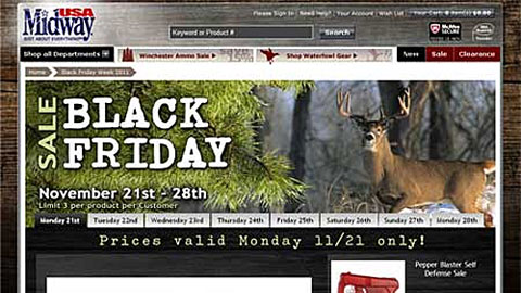 MidwayUSA Black Friday & Cyber Monday Sales