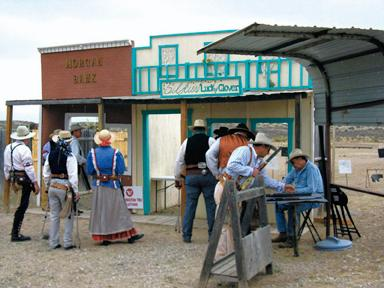 Cowboy shooting sport features Old West wear, guns
