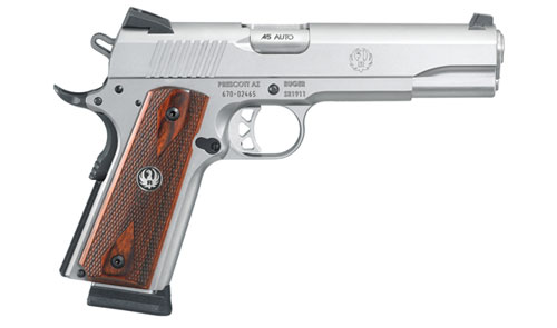 The Ruger SR1911 (Video)