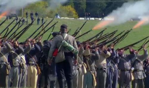 Shooting Gallery: Civil War Reenactment