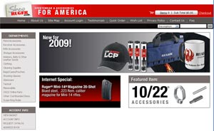 ShopRuger.com Offers Enhanced On-Line Shopping Experience
