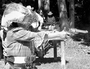 Wild, Wild West Returns To Litchfield In Action Shooting Event