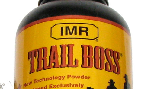 IMR® Trail Boss® is 100% Smokeless Powder